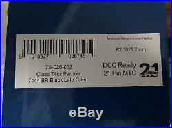 Dapol O Gauge 74xx With Dcc Sound. Br Black L/c Brand New