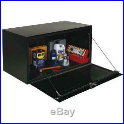 Delta Pro 1-005002 30 in. Long Heavy-Gauge Steel Under Bed Box in Black