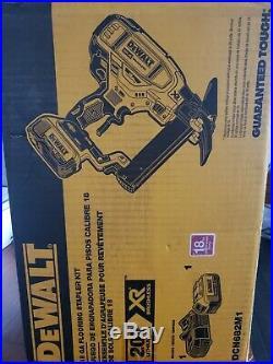 Dewalt 20V Max XR Lith-Ion Cordless 18 Gauge Flooring Stapler DCN682M1 BRAND NEW