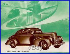 Dodge D-11 Desoto Steel Running Board Set 39 1939 Made in USA 16 Gauge