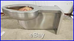 Dura-Ware R2105-W-1 1.28/1.6/3.5 GPF 16 Gauge Stainless Steel Wall Mount Toilet