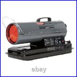 Dyna-Glo Delux Kerosene Forced Air Heater 50K BTU Fuel Gauge Carrying Handle