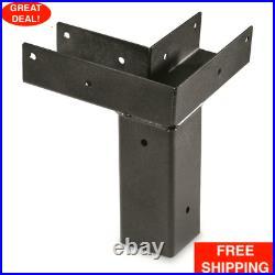 Elevated Platform Bracket 4 Pack For 4x4 Wooden Posts 11-Gauge Steel Hunting