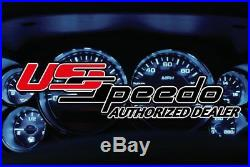 For Chevy Tahoe 95-98 Stainless Steel Gauge Face Kit w Blue Numbers, 100 MPH