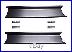 Ford F  Pickup Truck Steel Running Board Set