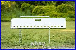 Freightliner Classic Bumper Chrome with 15 2 Light Cutouts, 7 Gauge Steel, USA