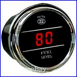 Fuel Level Gauge for Any Semi, Pickup Truck or Car, Teltek Brand