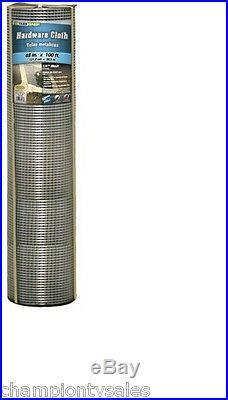 Galvanized Metal Hardware Cloth, 48 x 100', 1/4 Mesh Fencing, 23 Gauge 693926