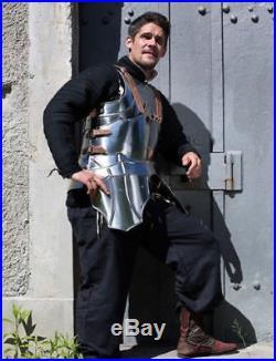 Gothic Half Suit of Armor 18 Gauge Steel Reenactment Replica Costume