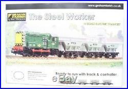 Graham Farish N Gauge 370-140 The Steel Worker Train Set New & Boxed