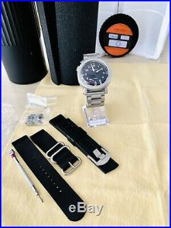 HELSON Gauge DIVER 112 BLACK DIAL With Power Reserve, Helson Steel 1000M FULL KIT