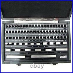HFS(R) 81Pcs Grade B Gage Gauge Block Set Usa Cert Nist Traceable New