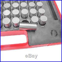 HFS Steel Pin Gauge Set 84pcs M6.833.916 Class ZZ