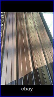 Heavy gauge 3x14ft Brand New Metal Roofing 50sheets(read Description)