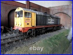 Heljan O gauge class 20059 Railfreight liv. & weathered. Brand new. Mint in box
