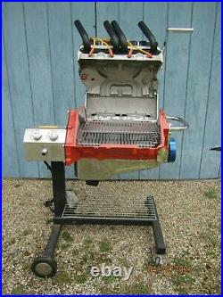 Hot Rod Grill Chevy, gas grill, stainless steel grill, cooking grill, 30000BTU