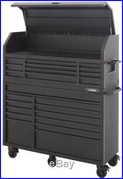 Husky Rolling Cabinet Tool Chest Storage 56 in. 23-Drawer 18-Gauge Steel