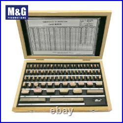 Imperial Steel Gauge Block 81pcs/set, Grade B