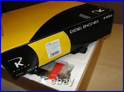 K Line O Gauge Black Bonnet Santa Fe Aba Brand New In Original Box