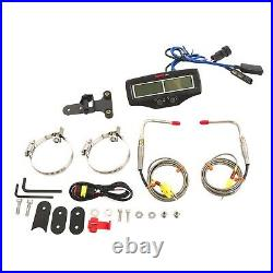 Koso BA006B61X Dual Exhaust Gas EGT Meter Gauge w Fast Response Sensor Brand New