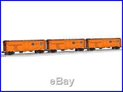 Lionel 148 O Gauge Pacific Fruit Express Steel Sided Reefer 3-Pack Car #6-29989