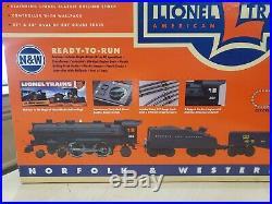 Lionel 6-11979 O27 Gauge Norfolk & Western Ready To Run Train Set Brand New