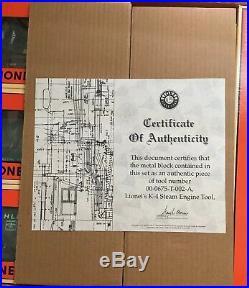 Lionel 6-21758 Bethlehem Steel Service Station Set Diesel & Freight Cars 0 Gauge