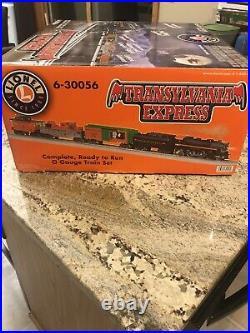Lionel 6-30056 Transylvania Express 2007 Train Set Brand New In Box O Gauge