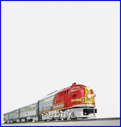 Lionel O Gauge Santa Fe Passenger Train Set 6-84719 Brand New Open Box