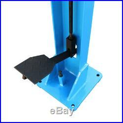 Manual Square Corner 3 x 3 Foot Notcher Sheet Metal Notching 16 Gauge Steel