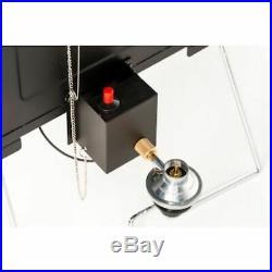 Masterbuilt MPS 20B Patio-2-Portable Propane Smoker Built-in Temperature Gauge