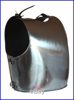Medieval Knight 16 Gauge Steel Greek Body Armor Muscle Plate Cuirass