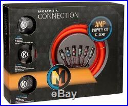Memphis 17-0GKIT True 0 Gauge Amplifier Installation Kit OFC Wire Brand New