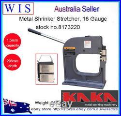 Metal Shrinker Stretcher, 16 Gauge Mild Steel, 8 inch Throat Depth-8173220