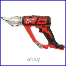 Milwaukee Metal Shear Tool Only Double Cut 18-Gauge Steel Cordless M18 18Volt
