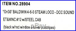 NEW Bachmann On30 4-6-0 DCC with sound ET&WNC #12 steel cab narrow gauge