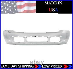 NEW USA Made Chrome Front Bumper For 1999-2004 Ford F-250 F-350 SHIPS TODAY