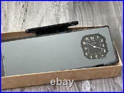 NOS Westclox Automobile Rear View Clock Accessory Mirror Vintage SCTA Hot Rod