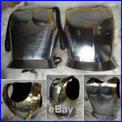 Napoleonic Steel Cuirass 18 Gauge Steel, Perfect Medieval / Viking Re-enactment