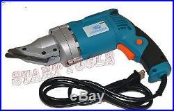 New ELECTRIC HEAD SHEAR 18 20 Gauge Metal Steel Heavy Duty Head Shear Cutter