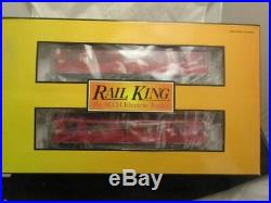 O Gauge-Scale RailKing R-17 4-Car Subway Set with Proto-Sound 2.0 BRAND NEW IN B