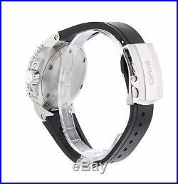 Oris Aquis Depth Gauge Black Dial Stainless Steel Men's 46mm Automatic Watch