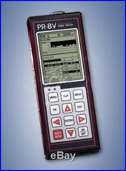 PR-8V Sonic Tester / Audio Gauge, Range in Steel 0.025 9.999 inches