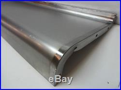 Packard Steel Running Board Set 37 1937 (Short) Made in USA 16 Gauge