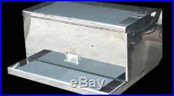 Peterbilt 379 Stainless Steel 14 Gauge Tool Box