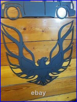 Phoenix Trans Am Firebird WS6 GTA 2ftx2ft 14 gauge Steel Wall Art THE LAST ONE