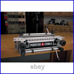 Porter-Cable Dovetail Jig Router bit depth gauge Durable single piece steel base