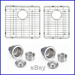Primart 33 inch Undermount Kitchen sinks 16 Gauge 60/40 Double Stainless Steel