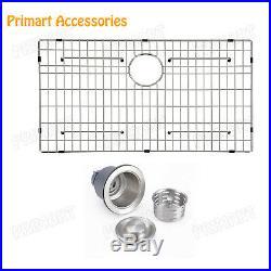 Primart 33 x 22 inch Drop-in 16 Gauge Stainless Steel Topmount Kitchen sinks