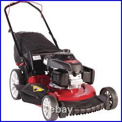 Push Lawn Mower 21 in. 160cc 15 Gauge Honda Engine Gas Pull Cord High Wheel
